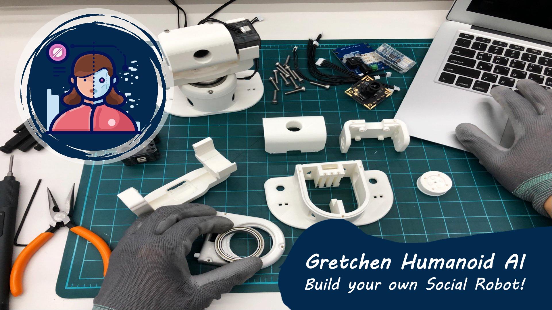 Gretchen Humanoid AI (Social Robot) Program in 9 Week